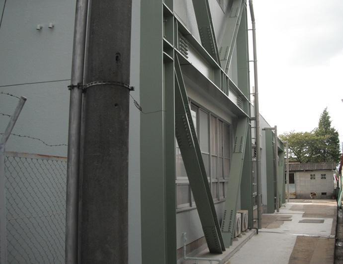 和泉市立郷荘中学校 耐震補強等工事