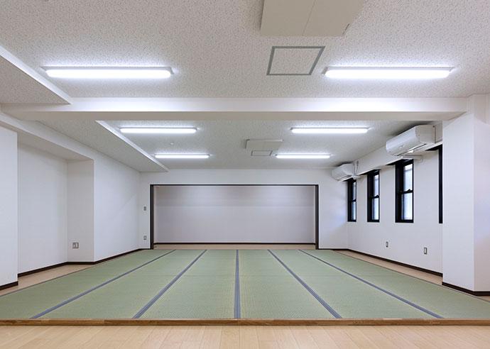 大阪府警 警察単身寮 多目的室